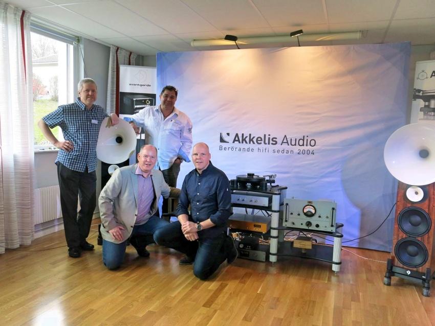Avantgarde Acoustics & Akkelis Audio