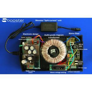 SBooster Audiophil Nätdel - Uppgraderar det mesta