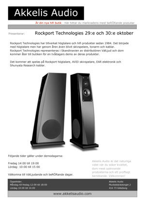 Rockport Technologies demo