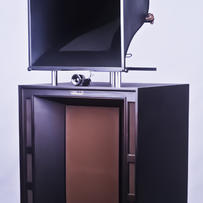 Line Magnetic Audio - Number Three Alicon Horn Speaker system