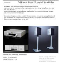 Goldmund Demo